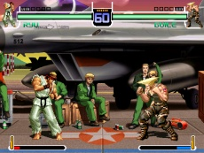 capcom vs snk fighters