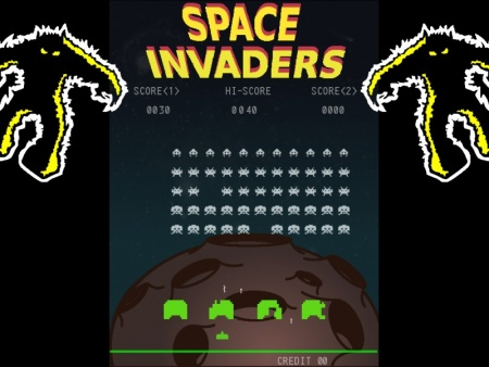 space invaders remake smoke mirrors studios
