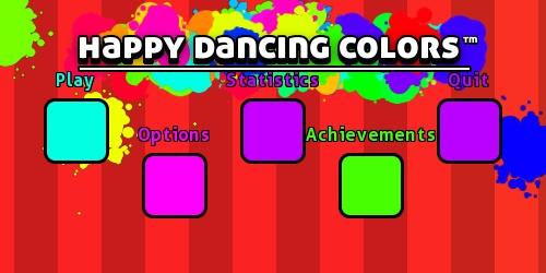 happy dancing colors