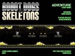 robot dogs vs skeletons